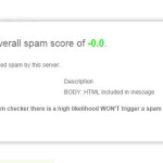 Email Spam Checker Test