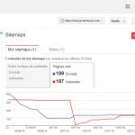 Páginas Indexadas y Sitemap Javierferraz.com